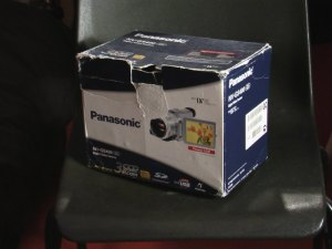 A picture of my video camera