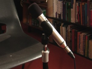 A picture of my microphone