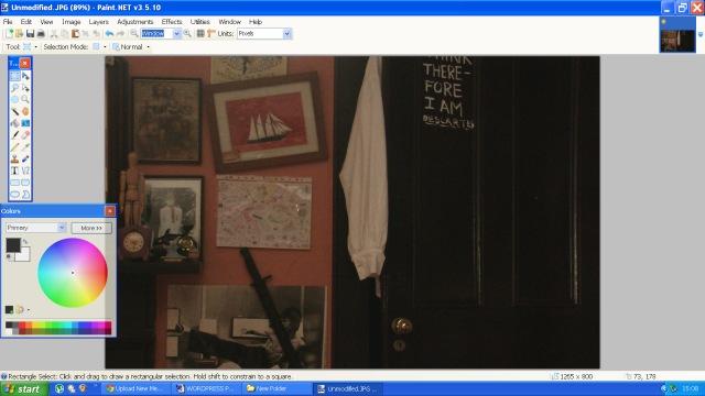 A screenshot from Paint.Net website