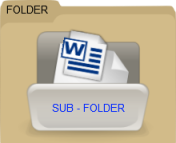 An image of paper documents filed in folders.