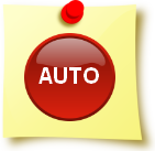 Image of a post-it note with an automatic button on it .