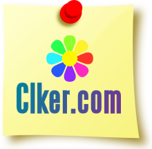"Image of a post-it note with the ""CLKER"" logo on it."