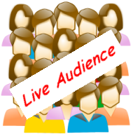 Image of a live audience.