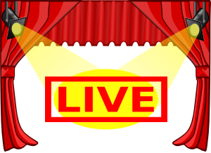 Image of a live stage